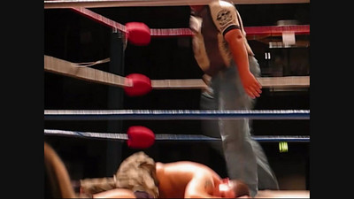 Matt Steele and Scott Sterling (The S&S Express) in tag team action against Trucker Jones and Big Country (Part One)